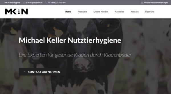 mk-nutztierhygiene.de – Kundenwebsite mit Webdesign und SEO