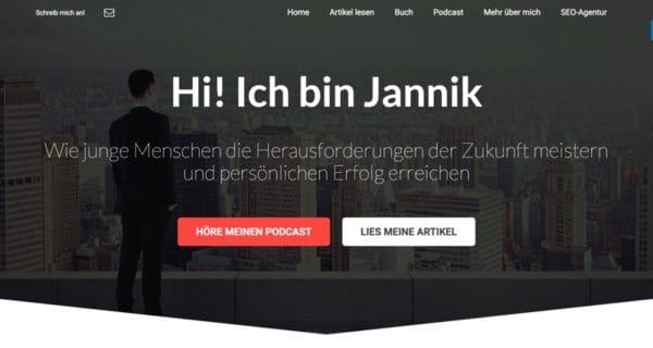 janniklindner.com – Das Blogprojekt von Jannik