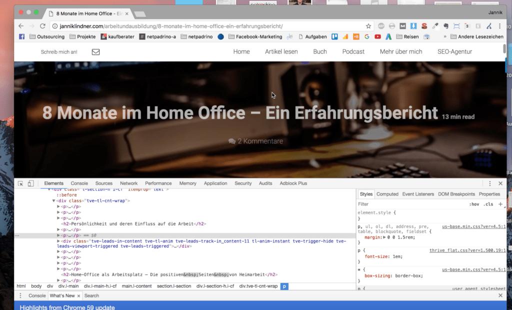 Unser Website-Audit im Ueberblick. Wir bringen dein Projekt auf neuesten Stand.
