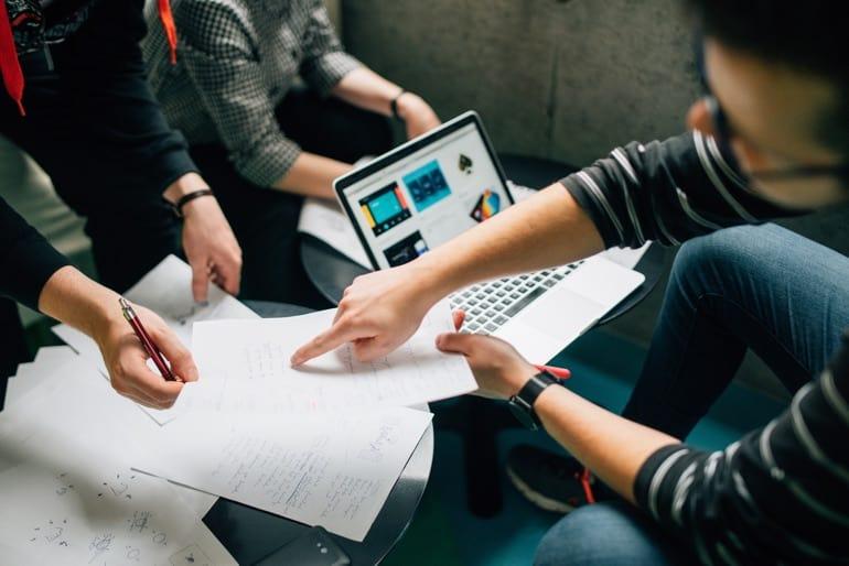 Ablauf Zusammenarbeit im Online Marketing